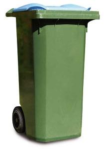 Les ordures : le meilleur endroit pour se débarrasser de l'herbe à la puce.
